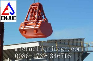 Ship Crane Vessel Remote Control Grab Hydraulic Clamshell Grab pictures & photos