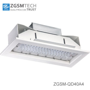 Inquiry About 40W to 160W IP66 LED Ceiling Recessed Canopy Light for Gas Station with Motion Sensor pictures & photos