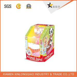 High Quality Customized Safe Soft Toy/Doll Display Packaging Paper Box pictures & photos