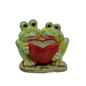 Frog Design Valentine′s Day Furnishing Articles and Frog Ornaments pictures & photos