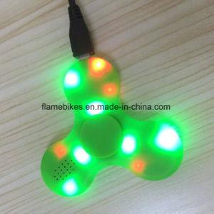 LED Light Switch Mini Bluetooth Speaker Music Fidget Spinner pictures & photos