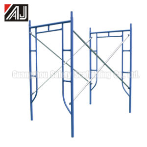1930mm H Type Sidewalk Frame Scaffolding for Building Construction pictures & photos