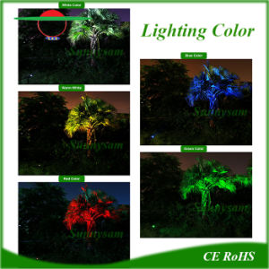 4LEDs Adjustable Solar Lawn Garden Wall Lamp Spotlights Outdoor Landscape pictures & photos