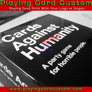 Hot Sale Competitive Price Custom Order Large Size Au/UK Version Cards Against Humanity with Clear Cellophane Packaged pictures & photos