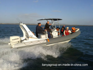 Liya 6.6m (A) Rib Hypalon Inflatable Boat Rigid Inflatable Boat pictures & photos