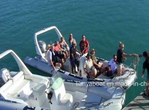 Liya 22 Feet Inflatable Rib Boat Military Boat for Sale pictures & photos
