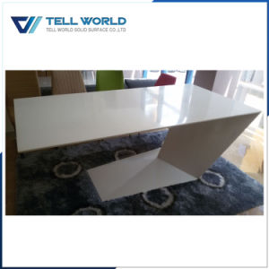 Ce and OEM Solid Surface Round Office Desk/Office Table pictures & photos