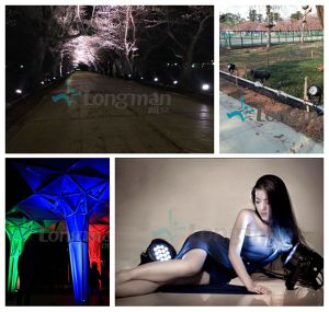 RoHS High Power RGBW 18PCS 10W Parco Stage Light LED pictures & photos