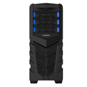 Gaming Computer Case with Mesh Front Panel, Quick Release Bays pictures & photos