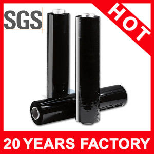 Black Mini Stretch LLDPE Material Film pictures & photos