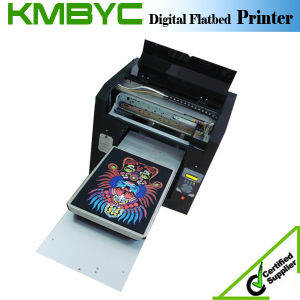 2017 T-Shirt and Phone Case Plastic Surface Digital UV Printing Machine pictures & photos