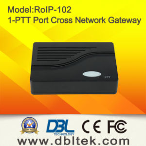 Radio Over IP Cross-Network VoIP Gateway RoIP-102 pictures & photos