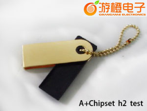 Fashion Mini USB Flash Drive 1GB-32GB with The Keyring (OM-P346) pictures & photos
