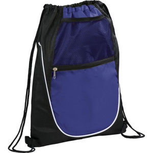 Promotional Custom Waterproof Sports 210d Polyester Drawstring Bag pictures & photos