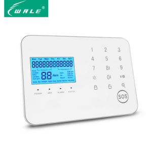 LCD Screen Fire Security Wireless Intelligent GSM Alarm System pictures & photos