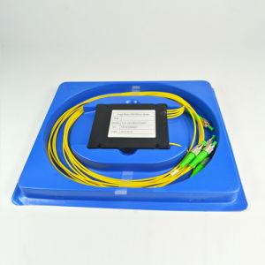 FTTX Networks Fiber Optics Splitter 1 X 4 with FC/APC Connector pictures & photos