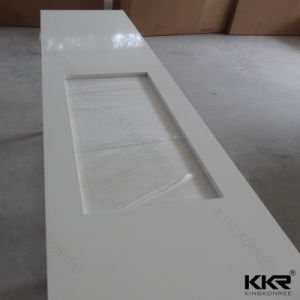 Pure White Quartz Stone Countertops for Kitchen Room pictures & photos