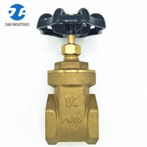 Dr Brass Pn16 Flow Control Gate Valve pictures & photos