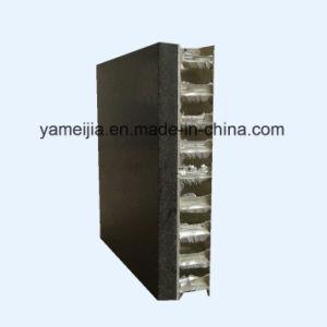 Black Color Round Shape Stone Marble Aluminum Honeycomb Panels pictures & photos