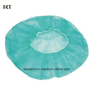 Disposable Bouffant Cap for Medical Protection Hotel and Industry Kxt-Bc02 pictures & photos