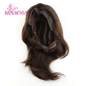 Virgin Human Front Lace Remy Hair Wig pictures & photos