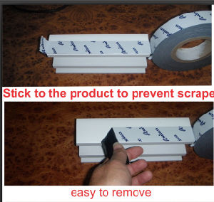 Protection Tape for Aluminium Profile Surface pictures & photos