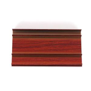 Elegant Aluminium Skirting Profile for Wall and Tile (ZP-S769)