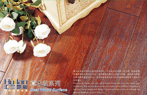 Register Embossed (EIR) HDF Laminated Flooring pictures & photos