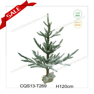 H3-5 Feet Direct Manufacture Snowing PE Christmas Tree Garden Decoration pictures & photos