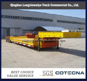 70ton Heavy Duty Lowbed Semi Trailer pictures & photos