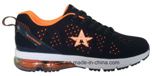 Athletic Flyknit Woven Running Sports Shoes (816-5925) pictures & photos