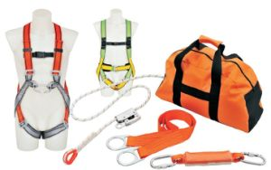 Climbing & Industrial Safety Polyester Support Protection Belt Harness with Ce pictures & photos