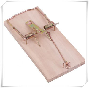 Wooden Mouse Snap Trap for Gardening (V14011) pictures & photos