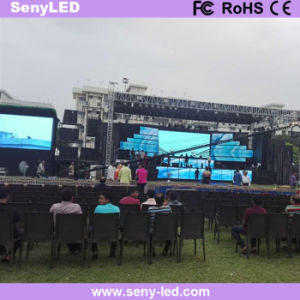P3.91 Outdoor Rental Full Color Die-Casting LED Display Screen for Stage pictures & photos