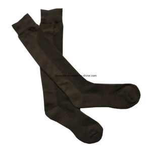 Black Coolmax Soccer Socks (DL-SC-06) pictures & photos
