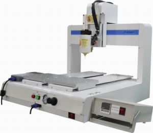 2 Y Automatic Desktop Glue Dispensing Machine with Valve pictures & photos
