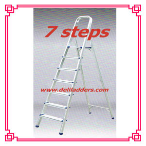 Aluminium 7 Step Ladder/Household Folding Ladder pictures & photos
