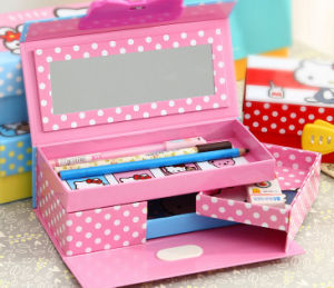 High-Capacity Printing Paper Stationery Box with Plastic Lock pictures & photos