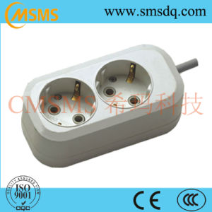 16A European Style 2 Way Power Extension Socket pictures & photos