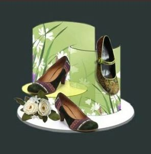 Acrylic Shoe Display Stand (CMO001)