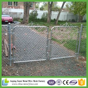 Diamond Wire Mesh Galvanized Chain Link Fence pictures & photos