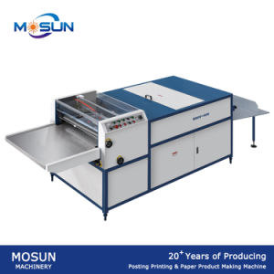Msuv650 Small Thick Without Air Knife UV Coating Machine pictures & photos
