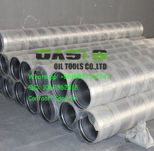 All-Welded Stainless Steel Wedge Wire Screens with Beveled Welding Ring pictures & photos