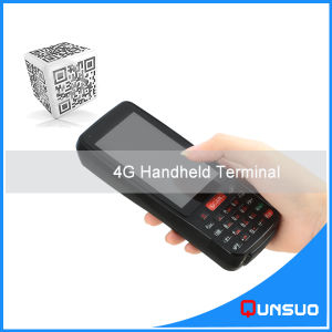 Large Screen 4G Lte Bluetooth Handheld Mobile Pdas Android Barcode Scanner pictures & photos