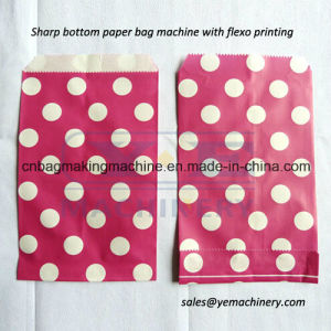Food Bread Paper Bag Making Machine with Two Color Printing (JDYT) pictures & photos