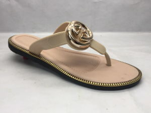 Fashion and All-Match PVC Slippers for Summer (24ja1701) pictures & photos
