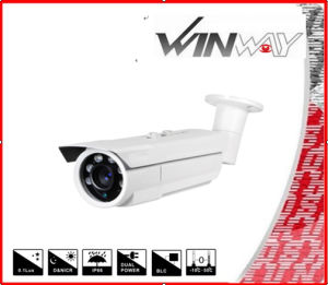 Waterproof Security Laser LED Analog Outdoor Bullet IR CCTV Camera Tk-8239 USA Chips (LMF-550)