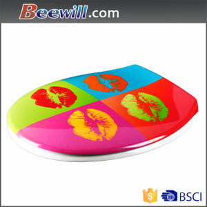 Beautiful Decorative Hot Sale Wc Toilet Seat pictures & photos