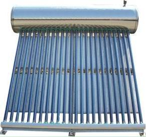 Stainless Steel Pre-Heated Solar Hot Water Heater System