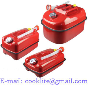 Horizontal Metal Jerry Can / Metal Fuel Can / Metal Gasoline Can / Petrol Can pictures & photos